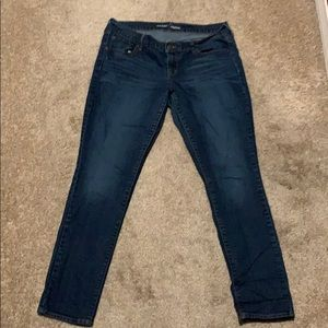 Like new old navy original skinny jeans